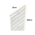 VILO grey wood - Panel PCV 25cm x 2,65m SCHEMAT
