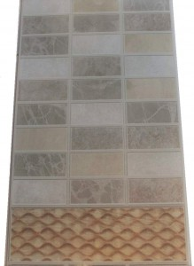 "CARRARA MIX ""VOX"" - panel PCV 25cm x 2,7m /m2"