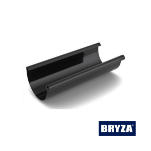BRYZA grafit - Rynna 125mm PCV
