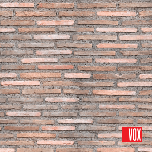 "PARED ROSSO ""VOX"" - panel PCV 25cm x 2,7m /m2"